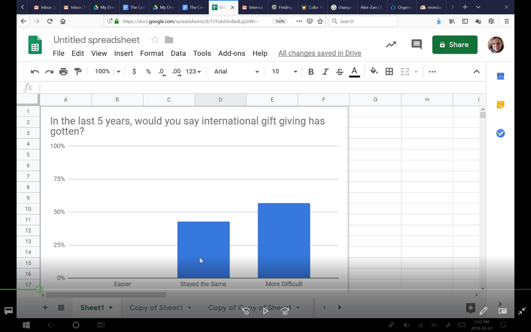 How to Change Bar Colour in Google Sheets Bar Graph