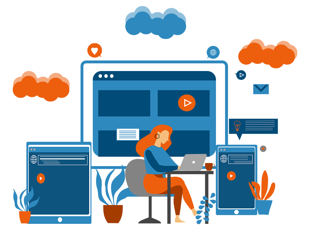 Desktop web design