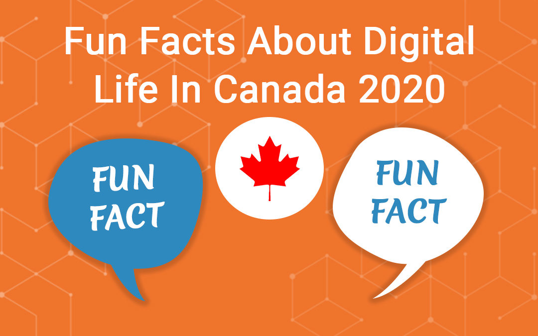 Fun Facts About Digital Life in Canada 2020